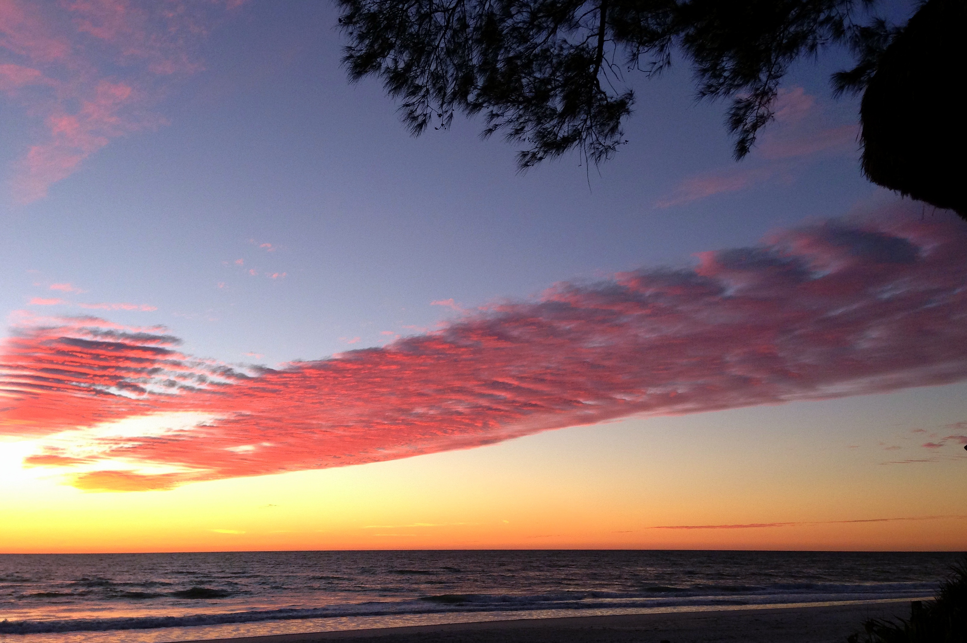Sunset, Anna Maria Island beach (2)