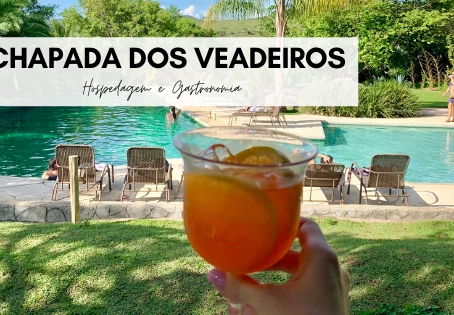 Chapada dos Veadeiros I: hospedagem e gastronomia