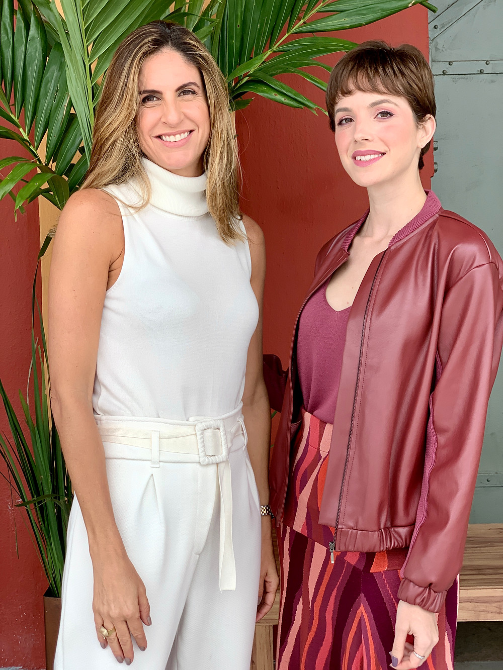 Viviane Furrier e Dani Lachter no Veste Rio 2019