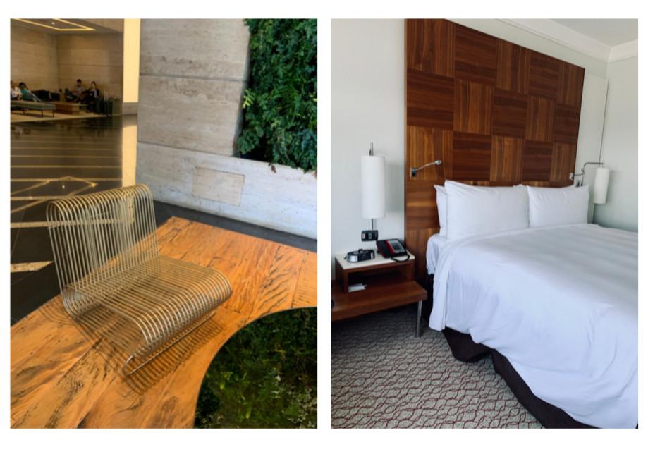 hotel renaissance são paulo, fotos do hall de entrada e do quarto