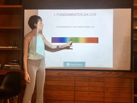 O Workshop Cores e Coloração Pessoal foi um sucesso!