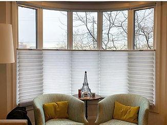 Bay Window with Celluar Shades