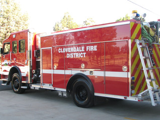 Cloverdale's new engine in service