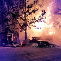 Early-AM fire destroys Tumalo-area detached garage