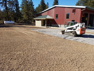 Station 602... The ground is graded. Paving is happening Thursday...