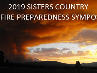2019 Sisters Country Wildfire Preparedness Symposium