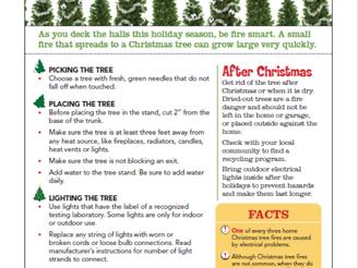Be safe this holiday season...