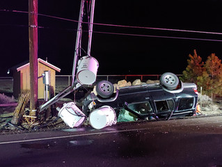 Bend man killed in rollover wreck