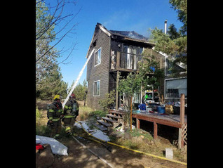 Hash-oil lab found in burned Cloverdale-area home. Neighbor heard explosion, saw flames