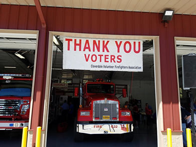 Our thanks for all the support    | Cloveredale Fire/Bend,OR