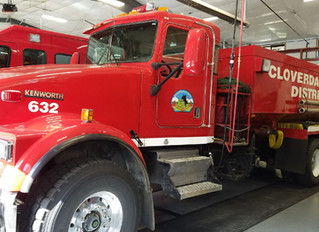 OFFERED FOR SALE BY SEALED BID  2000 KENWORTH WATER TENDER