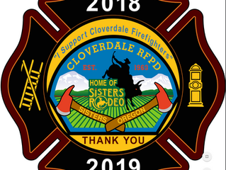 Cloverdale Volunteer Fire Fighters Annual Donation Drive...