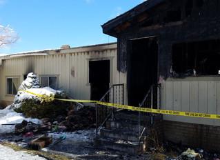Cloverdale family escapes as fire destroys home...