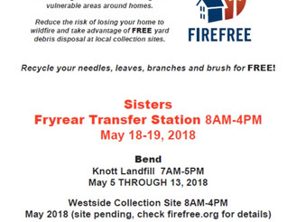 FireFree Event This coming weekend