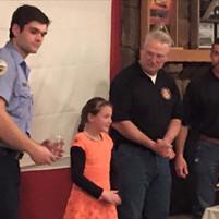Fire district honors volunteers