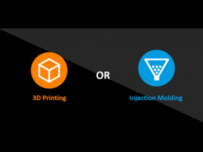 3D Printing v Injection Molding