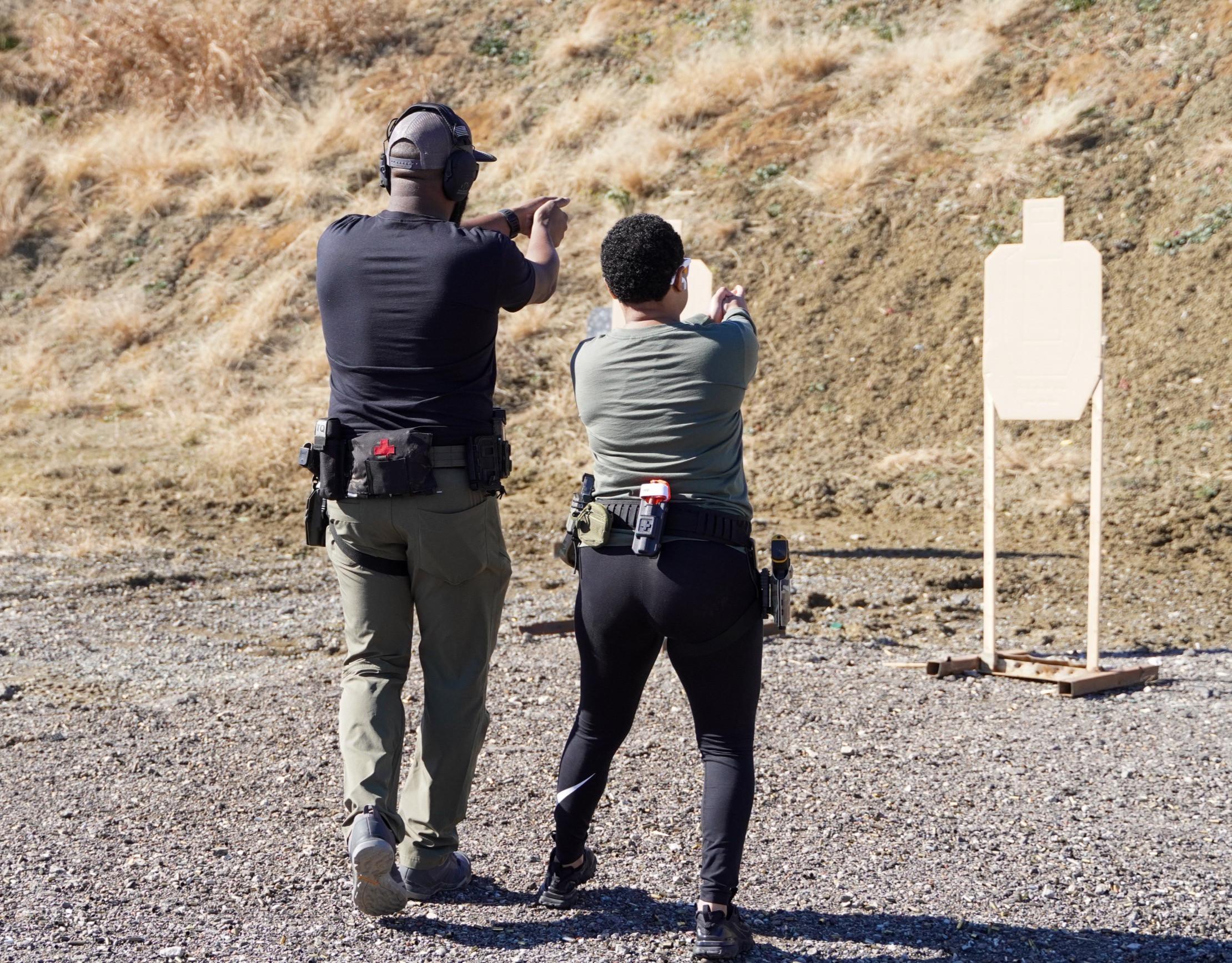 Toting Pistol 1