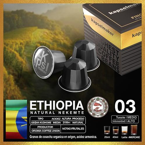Etiopia, Fincas del Mundo - Tueste Medio / Intensidad Alta. 10