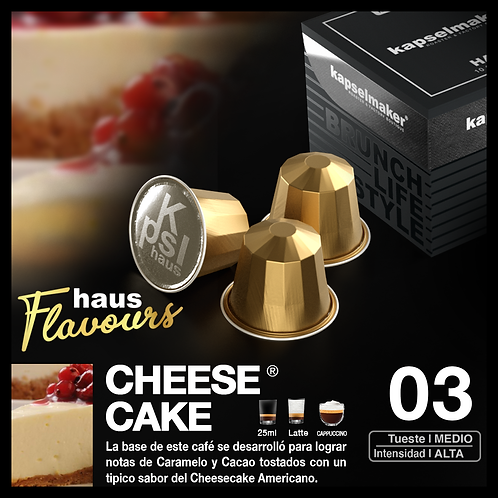 Flavour - Cheesecake - 10 Caps