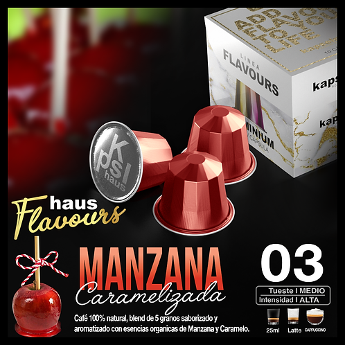 Flavour - Manzana Caramelizada x 10 Caps