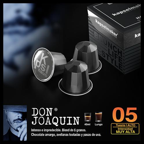 """Don Joaquin"" Intensidad muy Alta. 05 Linea Haus"