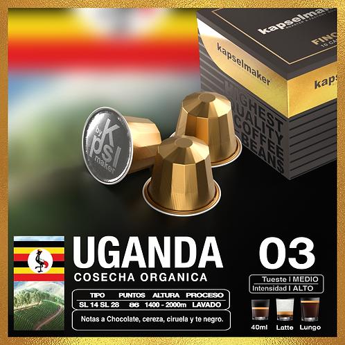 Uganda -  Fincas de Especialidad x 10 Caps.