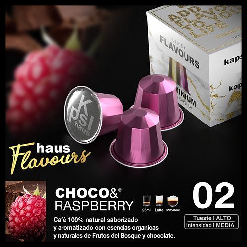 Flavour - Choco&Raspberry x10 Caps