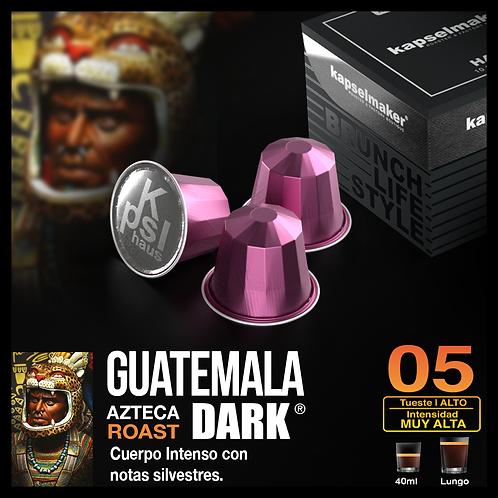 Guatemala DARK - Tueste Alto / Intensidad Muy Alta - 10 Caps