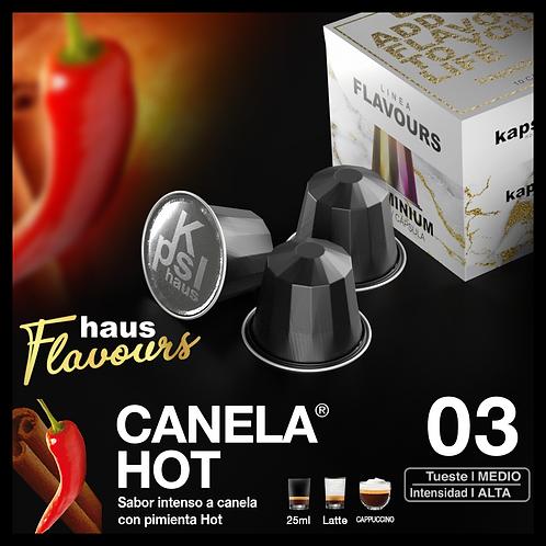 Flavour - Canela Hot - Tueste Medio / Intensidad Alta - 10 Caps