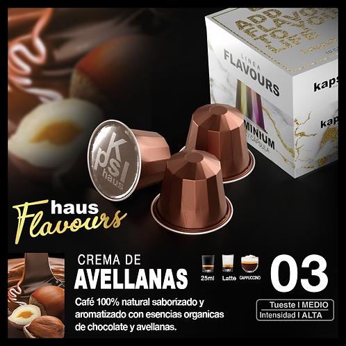 Flavour - Crema de Avellanas x 10 Caps