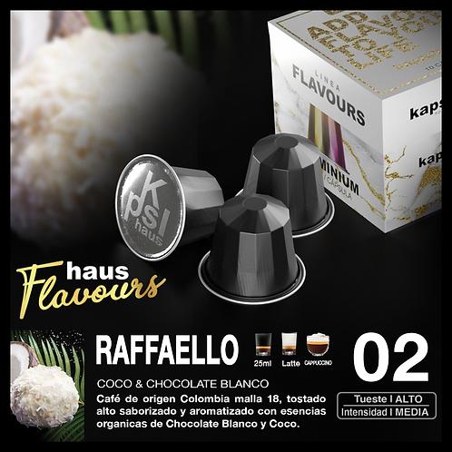 Flavour - Sabor Raffaello Coco + Chocolatel Blanco x10 Cap
