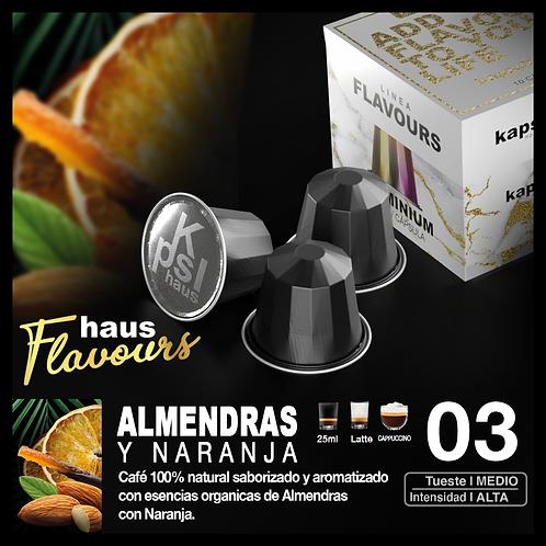 Flavour - Almendras y Naranja x 10 Caps