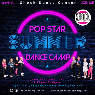 Pop Star Summer Dance Camp