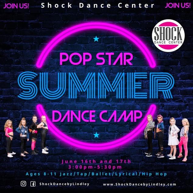 Pop Star Summer Dance Camp