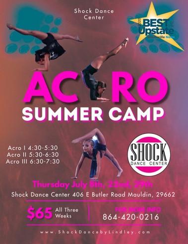 Acro Summer Camp