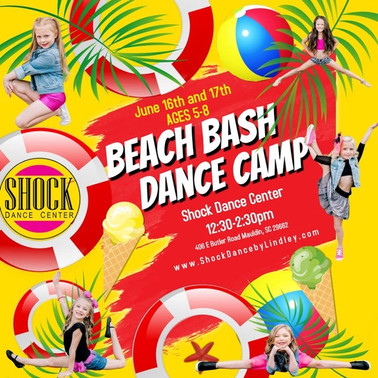 Beach Bash Dance Camp!