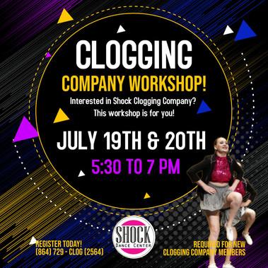 Clogging Workshop
