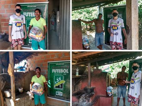 AKA realiza novamente doação de cestas às famílias carentes em Araçuaí como em anos anteriores
