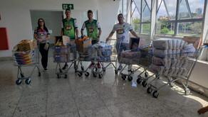 Corrente do Bem - Doação de cestas básicas