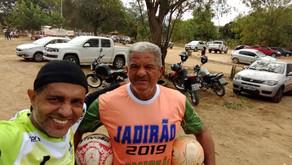 Entrega de Bolas - Projeto Veteranos Jadirão - Araçuaí