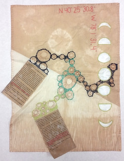 Intro; Textiles and Material Studies I; 2016; Surface Design Project