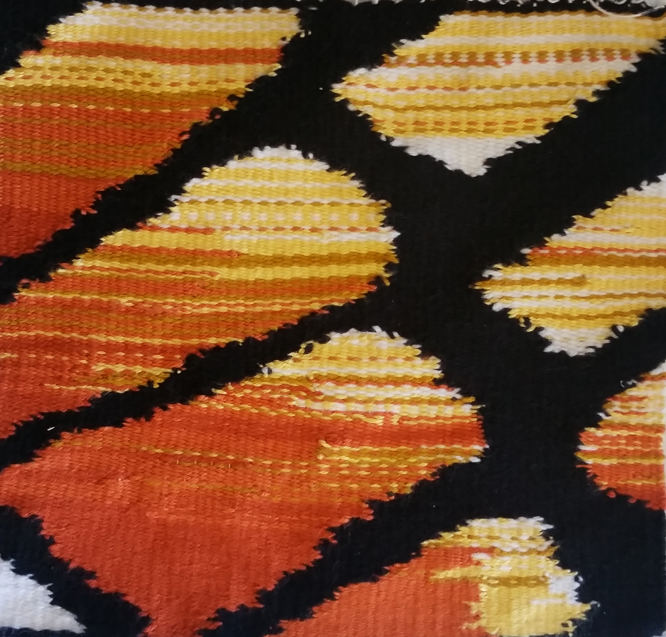 Intro; Weaving I; 2016; Tapestry Project