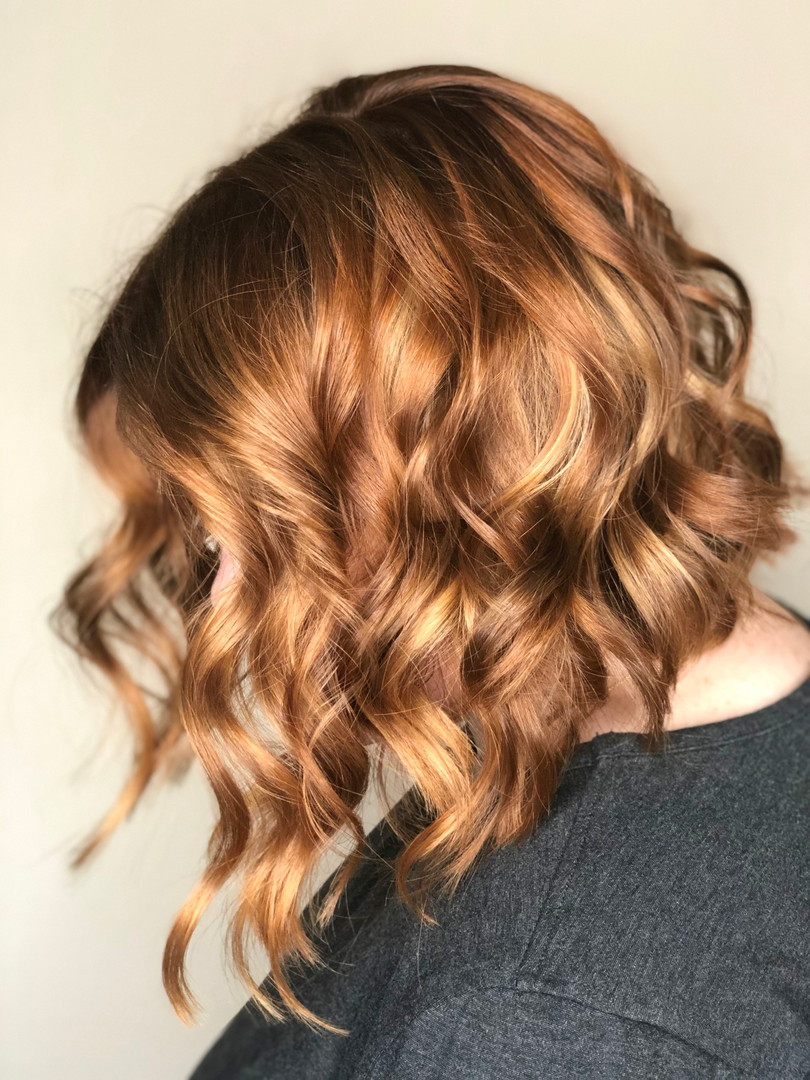 Viroqua, Wisconsin hair stylist balayage