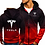 Thumbnail: Hoodies Men Tesla Car Logo Print Casual HipHop Harajuku Gradient Color Hooded...