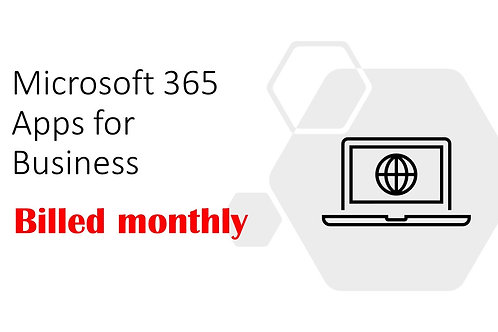 1 Month Subscription of Microsoft 365 Apps for Business