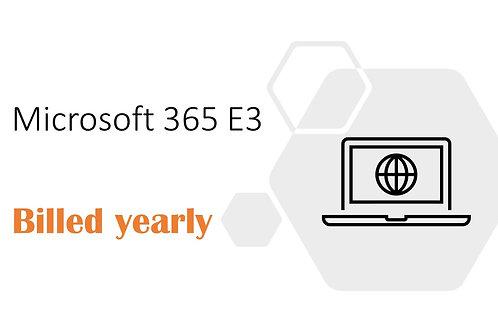 1 Year Subscription of Microsoft 365 E3