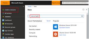 Adding Windows Analytics Solutions in Azure