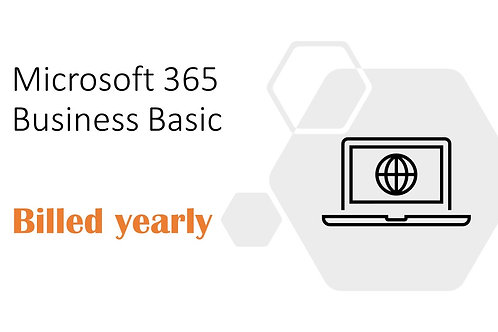 1 Year Subscription of Microsoft 365 Business Basic