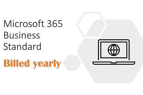 1 Year Subscription of Microsoft 365 Business Standard