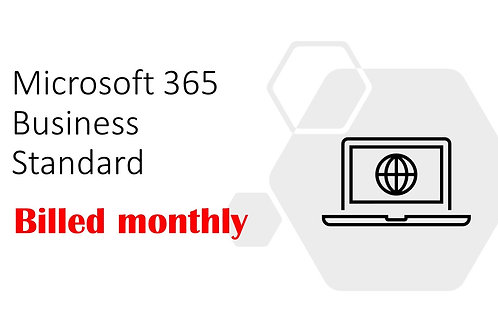 1 Month Subscription of Microsoft 365 Business Standard